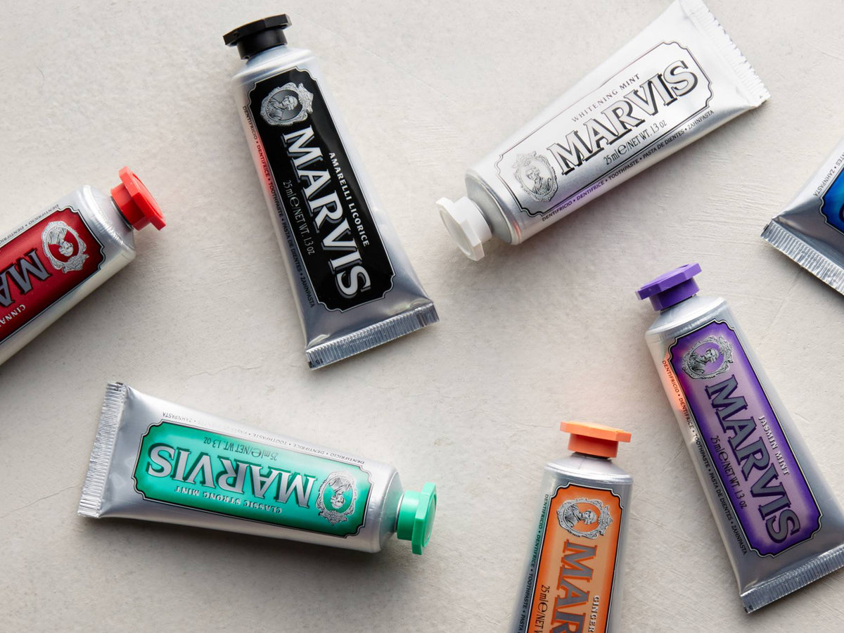 Marvis travel toothpaste