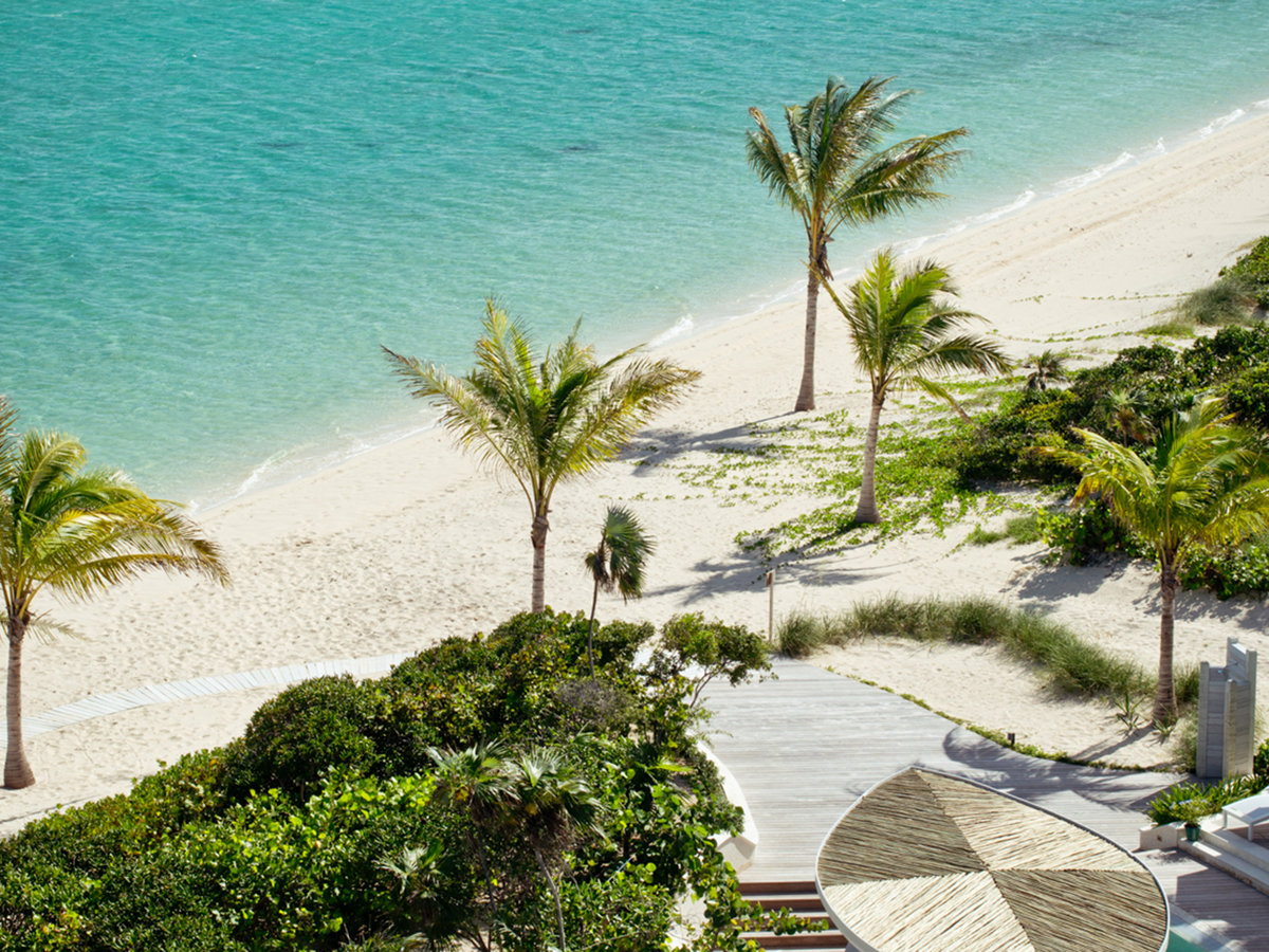 Long Bay Beach in Turks and Caicos