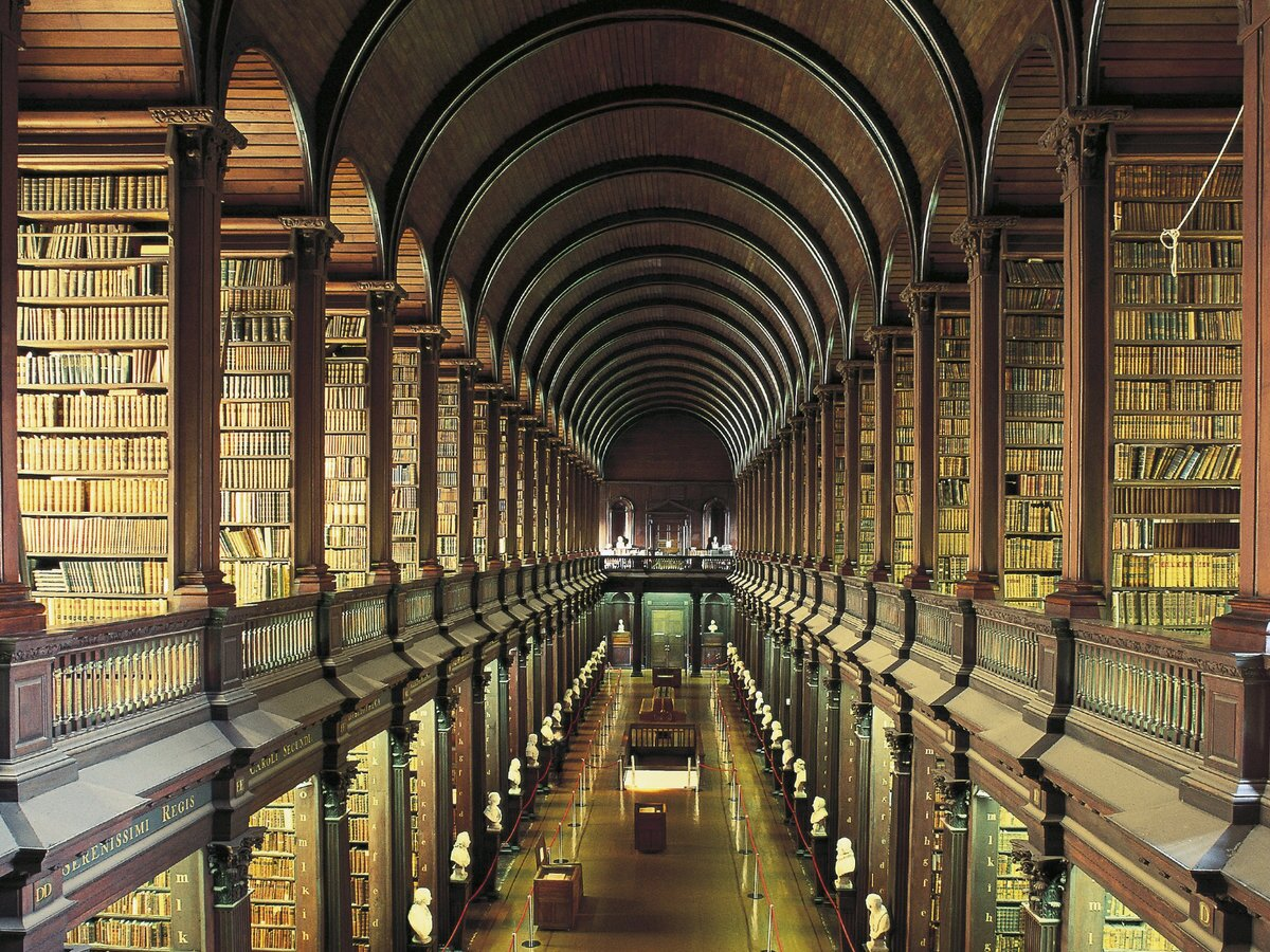 0fdcfc078faf Trinity College and The Long Room