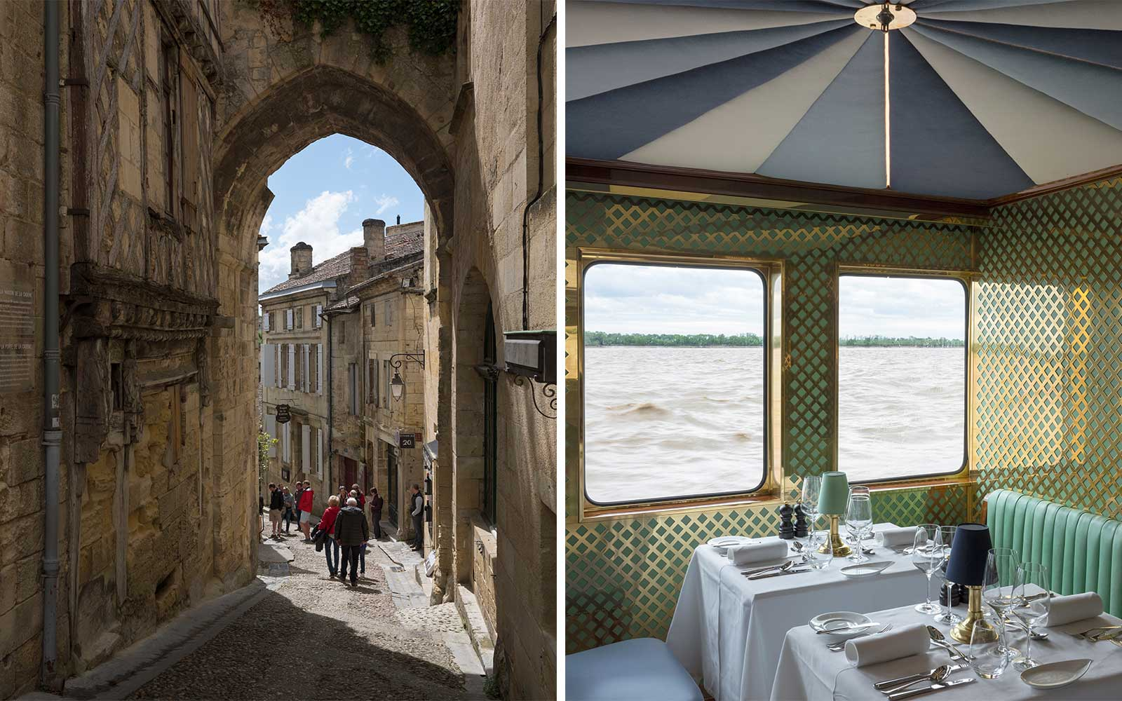 Scenes from the Bordeaux region of France