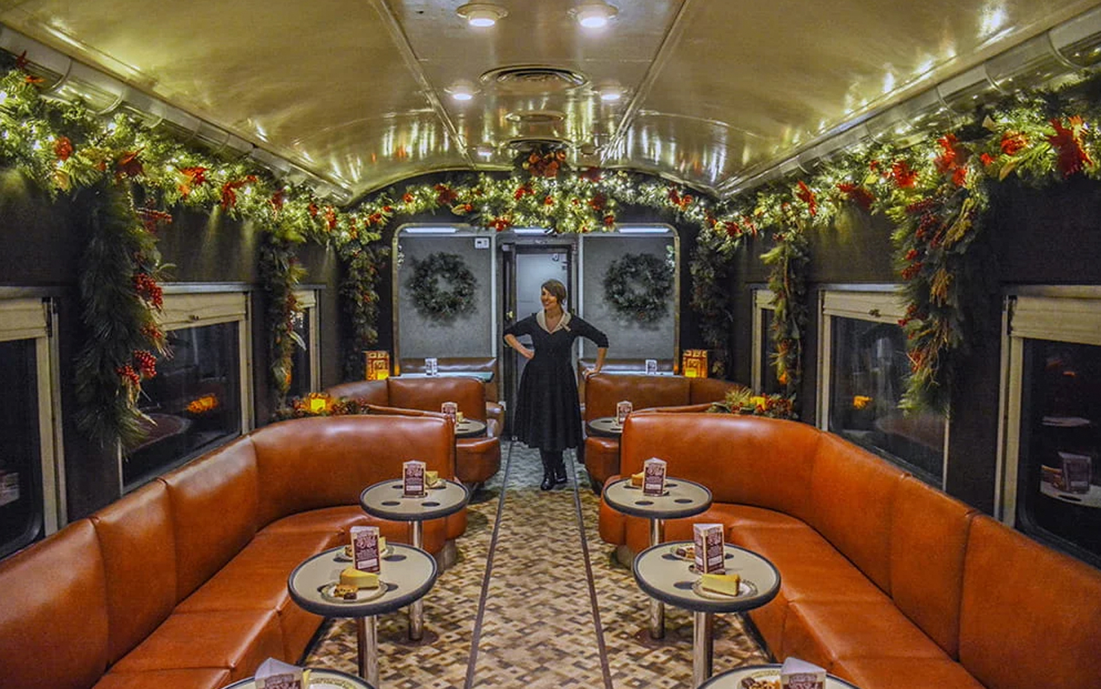 Tennessee Valley Railroad vintage train car