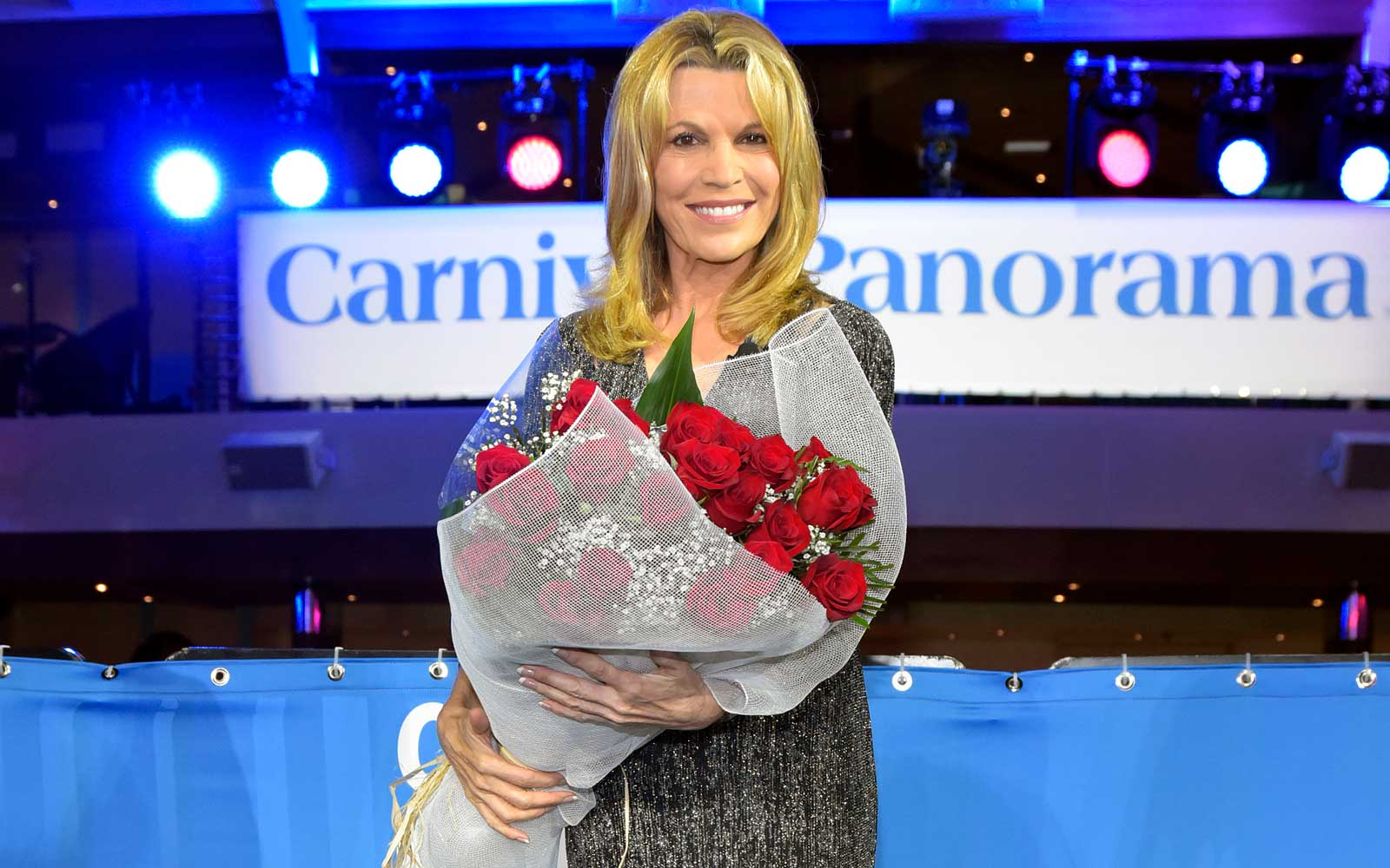 Unveiling Of New Carnival Cruise Ship Panaorama With Vanna White
