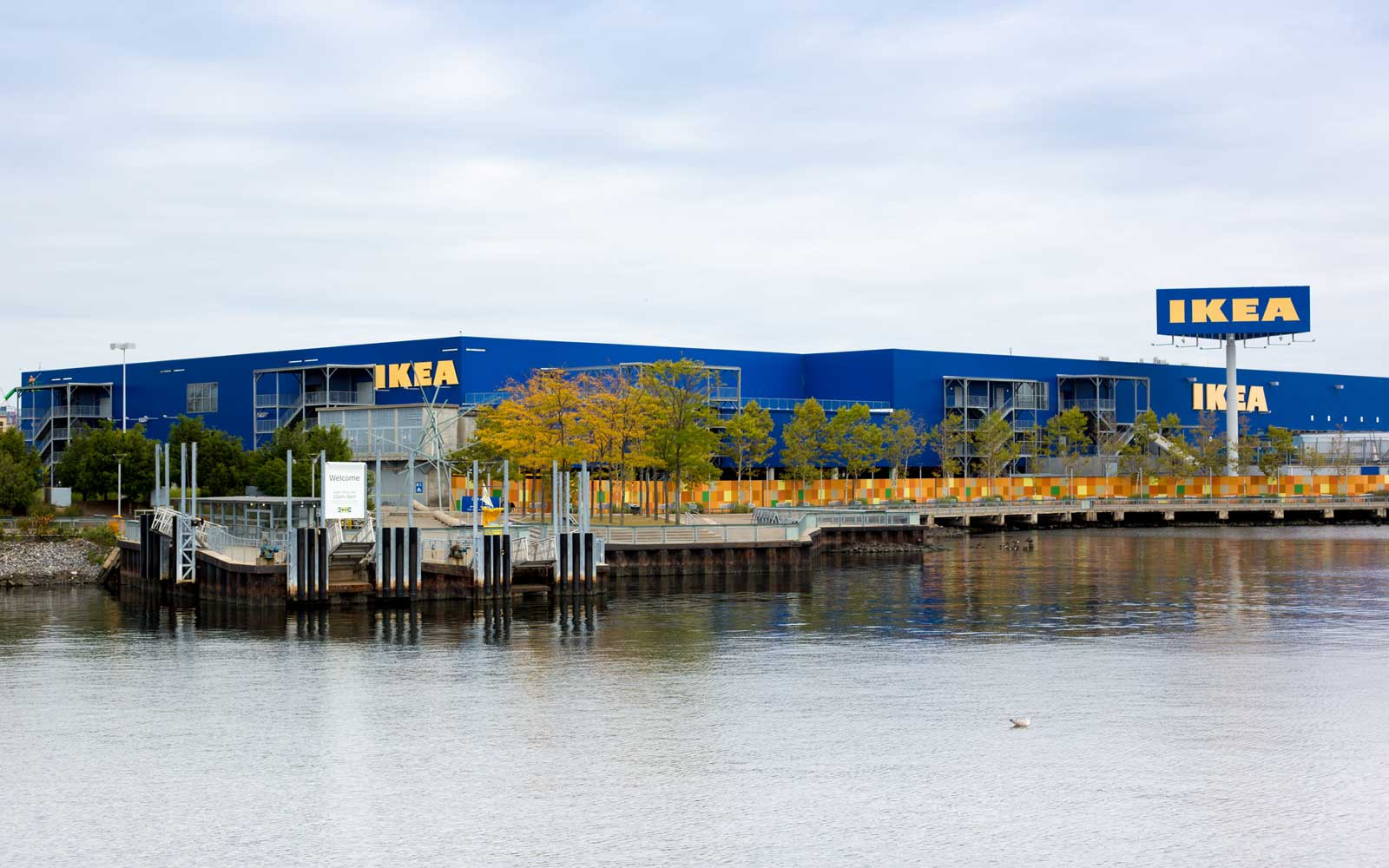 Red Hook, Brooklyn, NY: Ikea Seen From Water