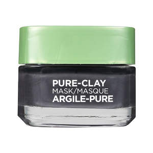 loreal-pure-clay-charcoal-mask