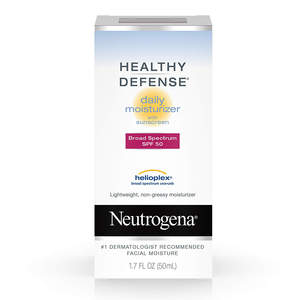 Neutrogena Healthy Defense Daily Moisturizer with Broad Spectrum SPF 50 Sunscreen