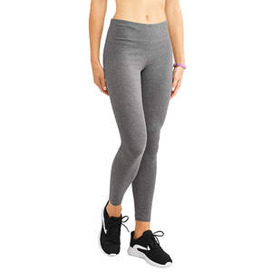 Athletic Works Core Cotton Legging Charcoal Heather Grey