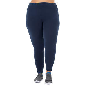 Athletic Works Plus Size Core Active Legging Indigo Essence