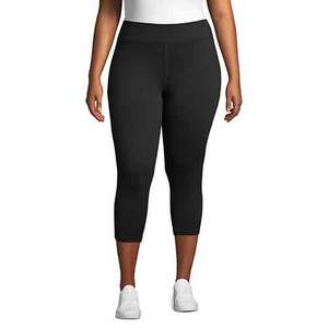 Just My Size Plus Size Active Performance Capri Leggings
