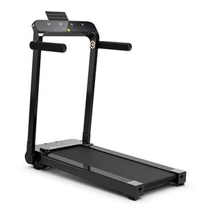 Costway Ultra-thin Lightweight Folding Treadmill Installation-free Walking Machine Gym