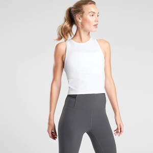 Best Workout Clothes for Women Athleta Shanti Crop Tank