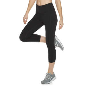 Tek Gear High-Waisted Shapewear Capri Leggings
