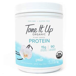 Tone It Up Organic Vegan Vanilla Protein Powder