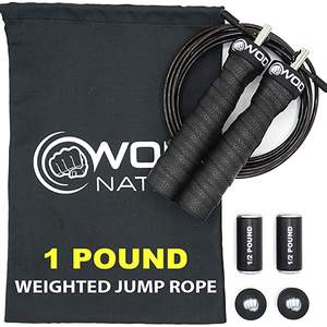 WOD Nation 1 Pound  Weighted Jump Rope