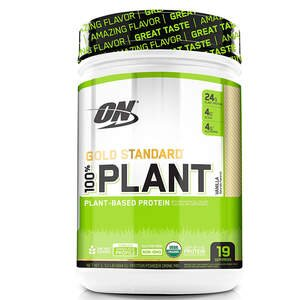 Optimum Nutrition Gold Standard 100% Organic Plant Based Protein Powder