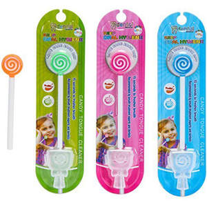 kids tongue cleaner smiley cover