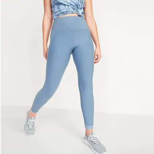 High-Waisted Elevate Built-In Sculpt 7/8-Length Compression Leggings