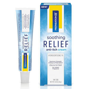 Preparation H Soothing Relief Anti Itch Cream