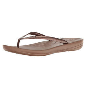 FitFlop Women's Iqushion Flip Flop-Solid