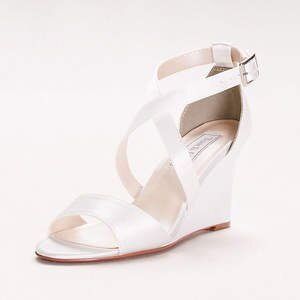 Jenna Dyeable Wedge Sandals