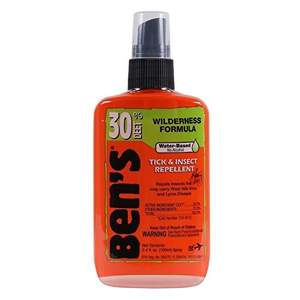 Ben's 30% Deet Tick and Insect Repellent