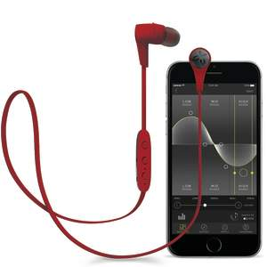 red jaybird wireless headphones