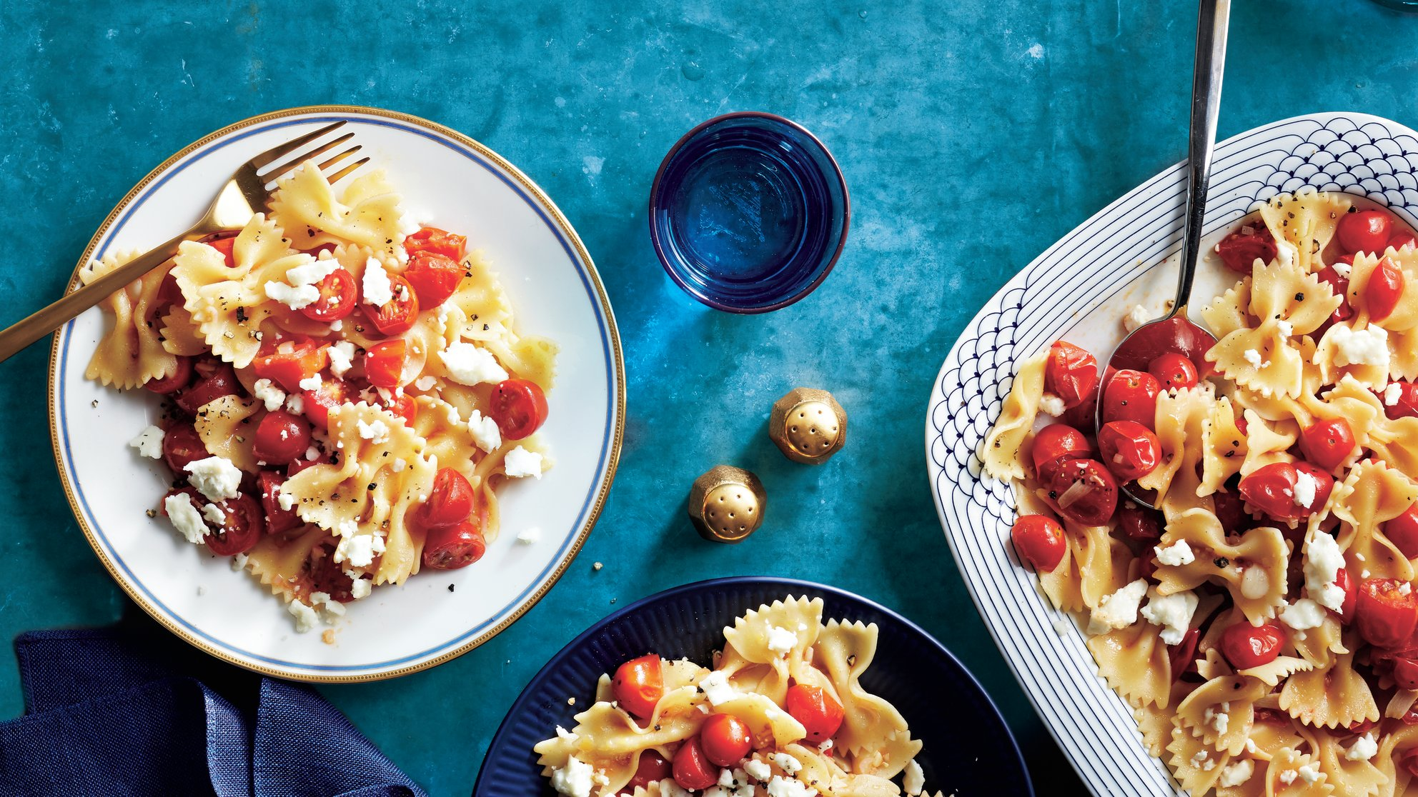 pasta-marinated-tomatoes-and-feta-recipe