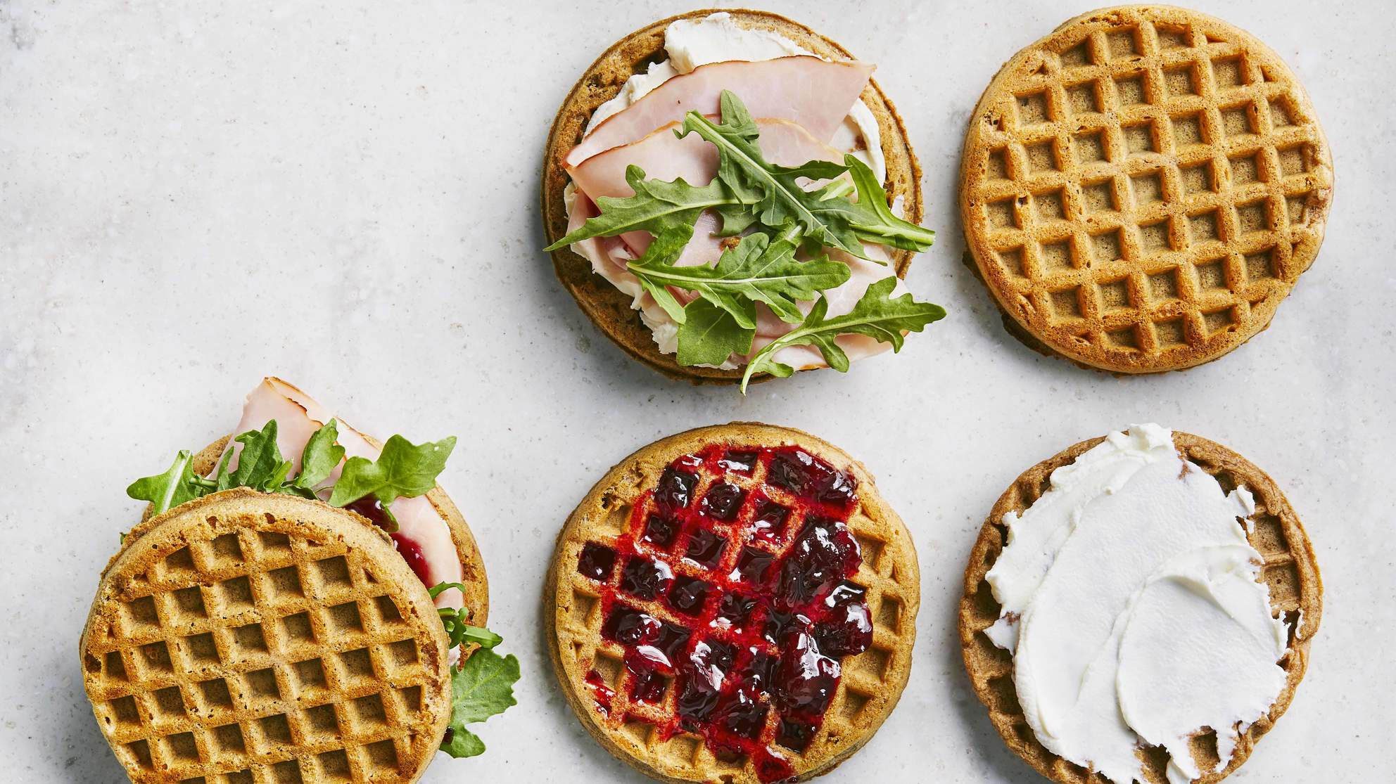 goat-cheese-waffle-sandwiches-health-mag-septermber-2019