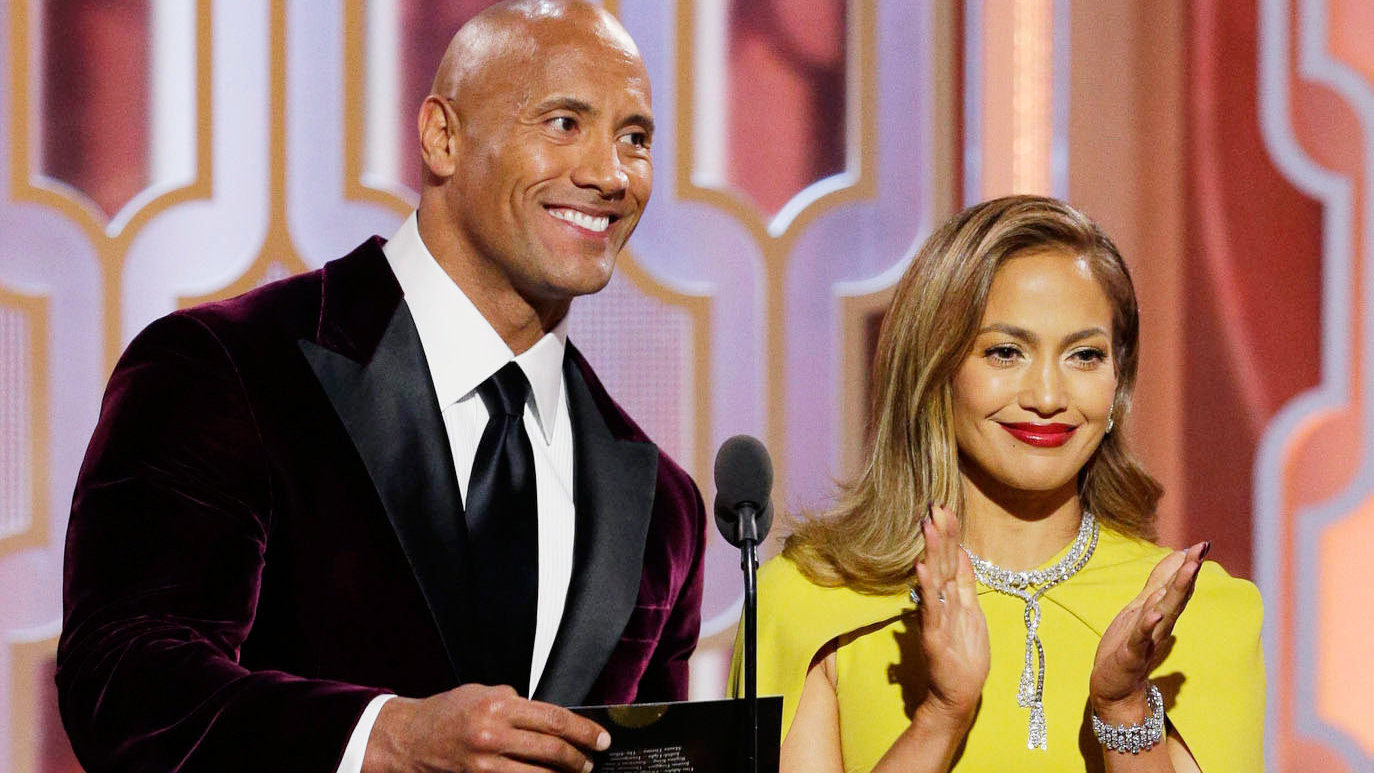Jennifer Lopez and The Rock Hit the Gym Together—and Here's What Happened