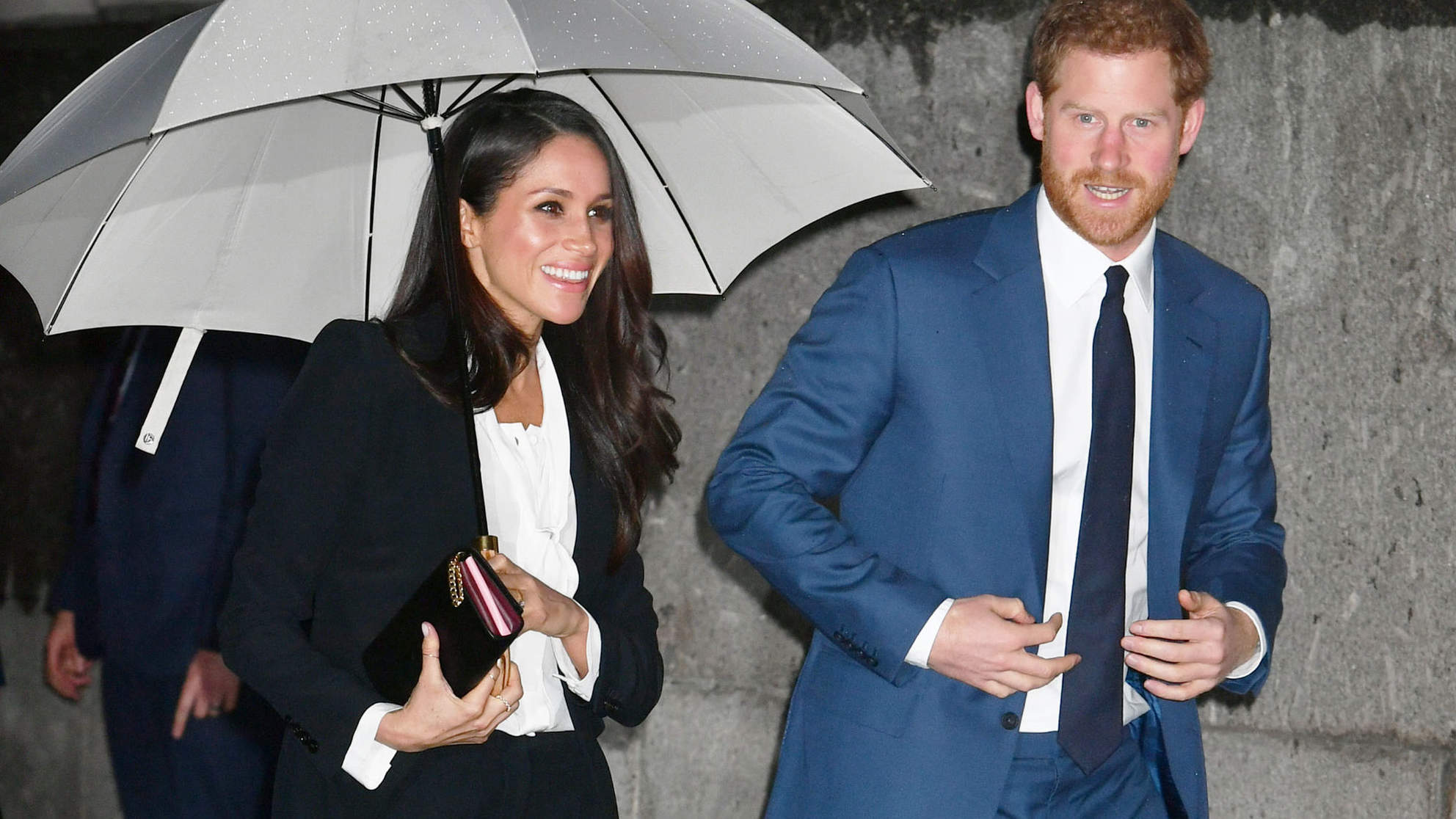 Meghan Markle Ditches the Formal Dress for a Pantsuit for Her First Royal Black-Tie Event