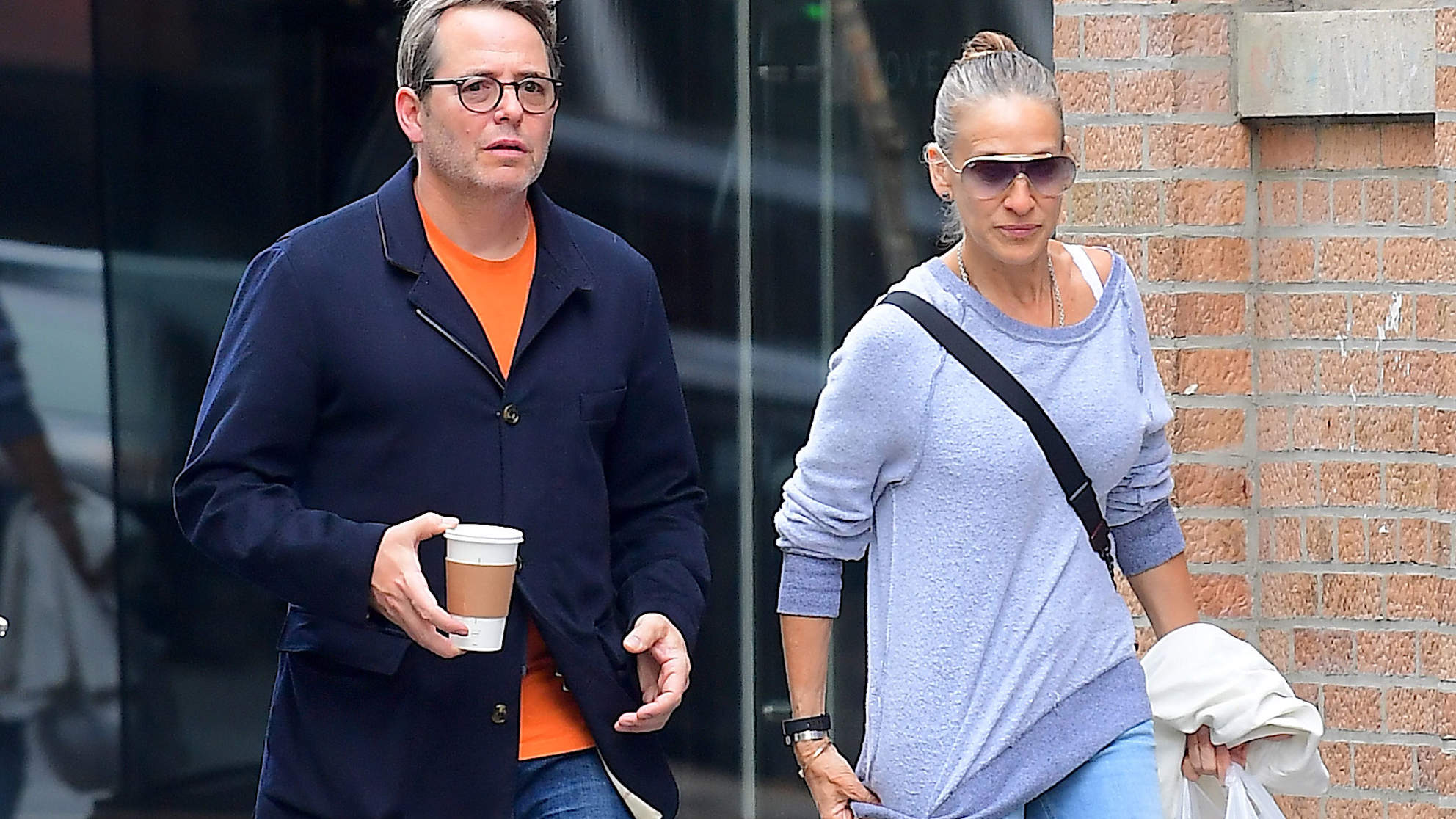 Honestly, Sarah Jessica Parker Is Wearing the Hell Out of These $95 Sneakers