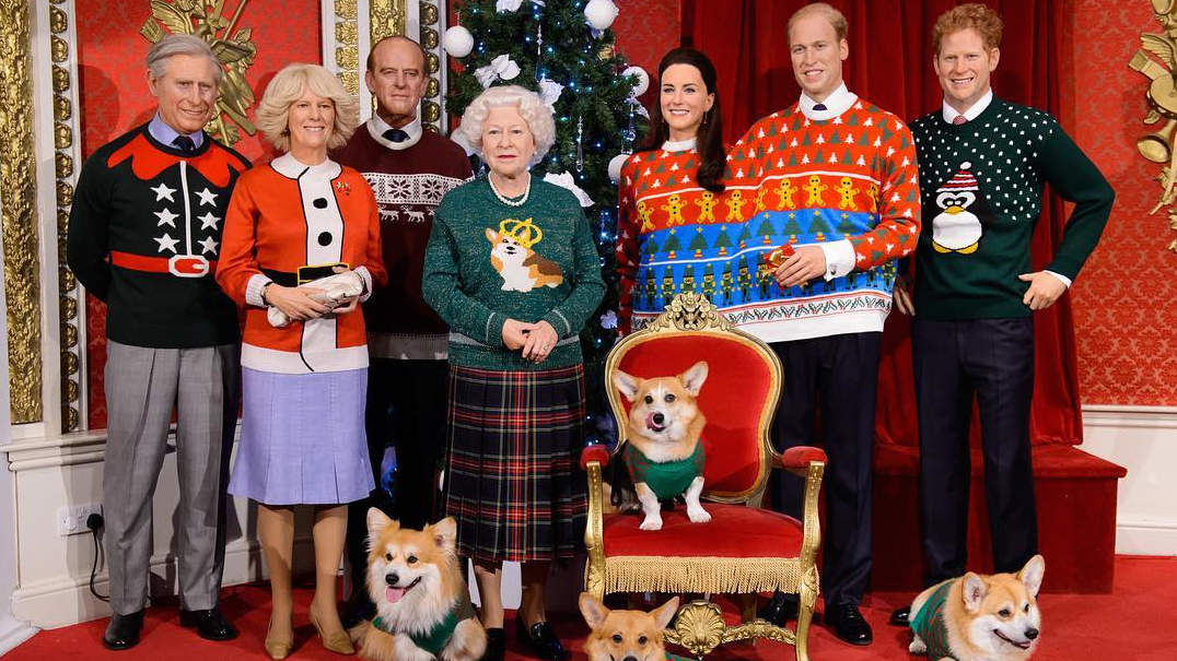This Photo of the Royal Family in Ugly ChristmasSweaters Is Everything