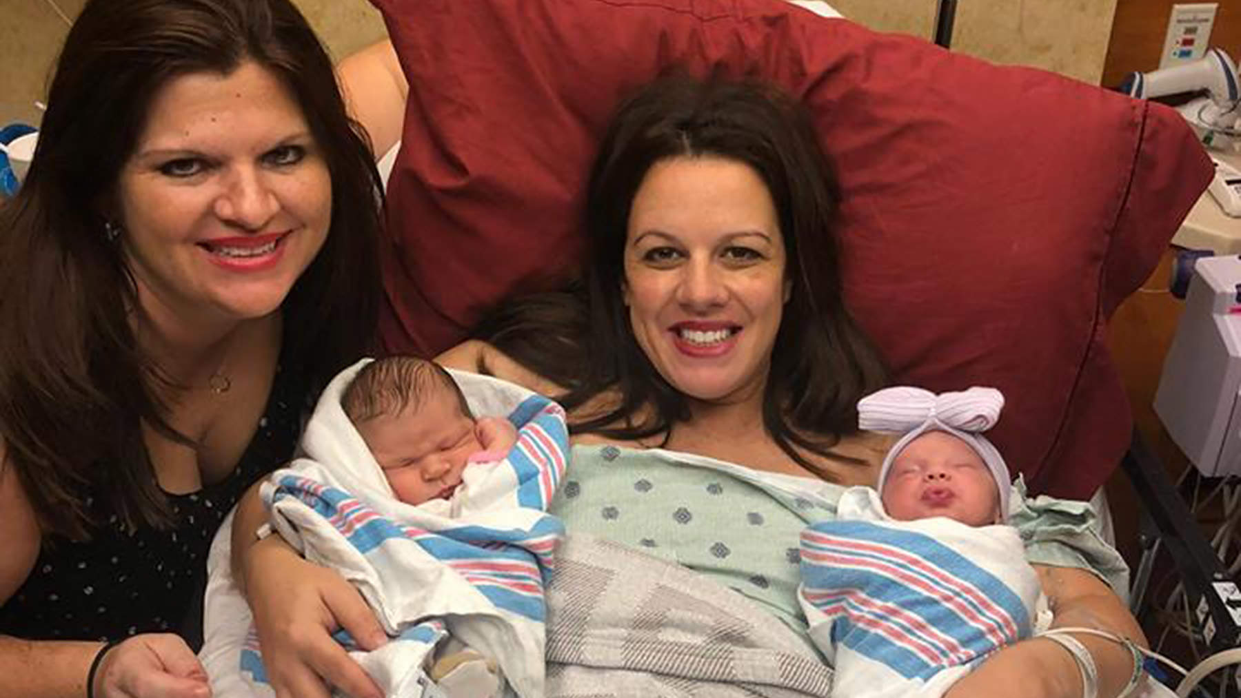 Mississippi Woman and Wife Pregnant at Same Time Give Birth 2 Days Apart: We Are 'So in Love'