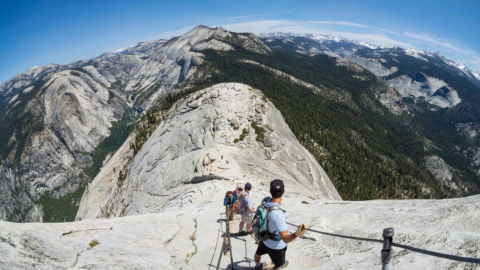 Half Dome Yosemite National Park Cable Route Hike NPS