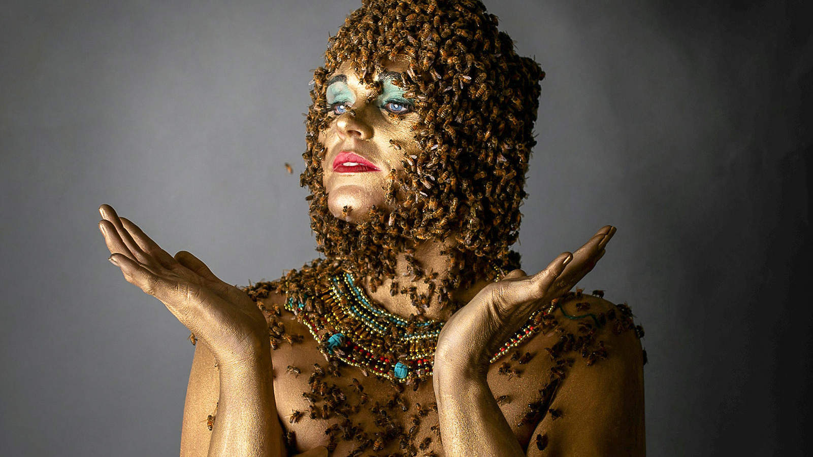 Mom Who Posed with 20,000 Bees on Her Belly Is Back with Another Maternity Shoot After Stillbirth