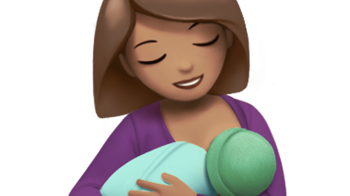 There's Officially a Breastfeeding Emoji Coming Later This Year
