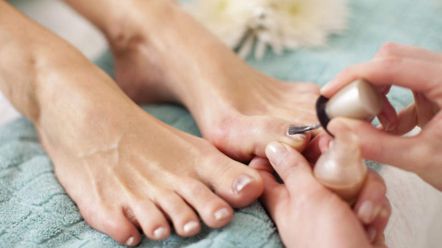 A woman almost lost her leg after a pedicure because the salon used a banned tool