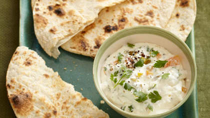 Mexican Ricotta Spread With Grilled Tortillas