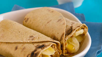 Banana-Nut Elvis Wrap