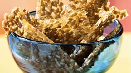 Curried Sunflower Brittle
