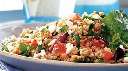 Bulgur: Greek Tabbouleh