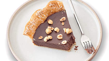 chocolate-nut-pie