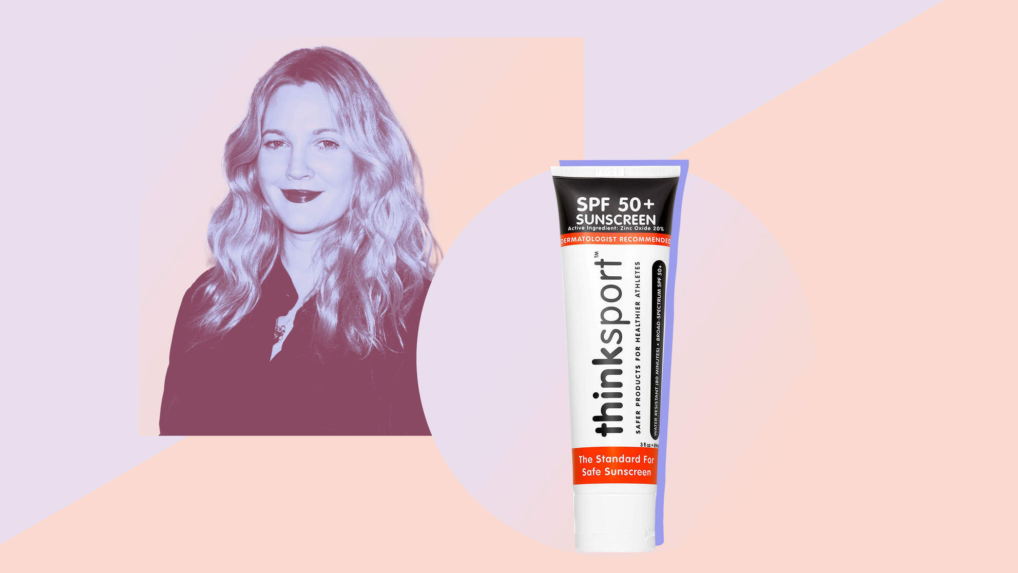 drew-barrymore-sunscreen drew-barrymore sunscreen skin dermatology woman health beauty shopping