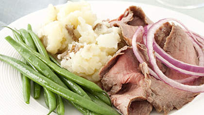 steak-potatoes-green-beans