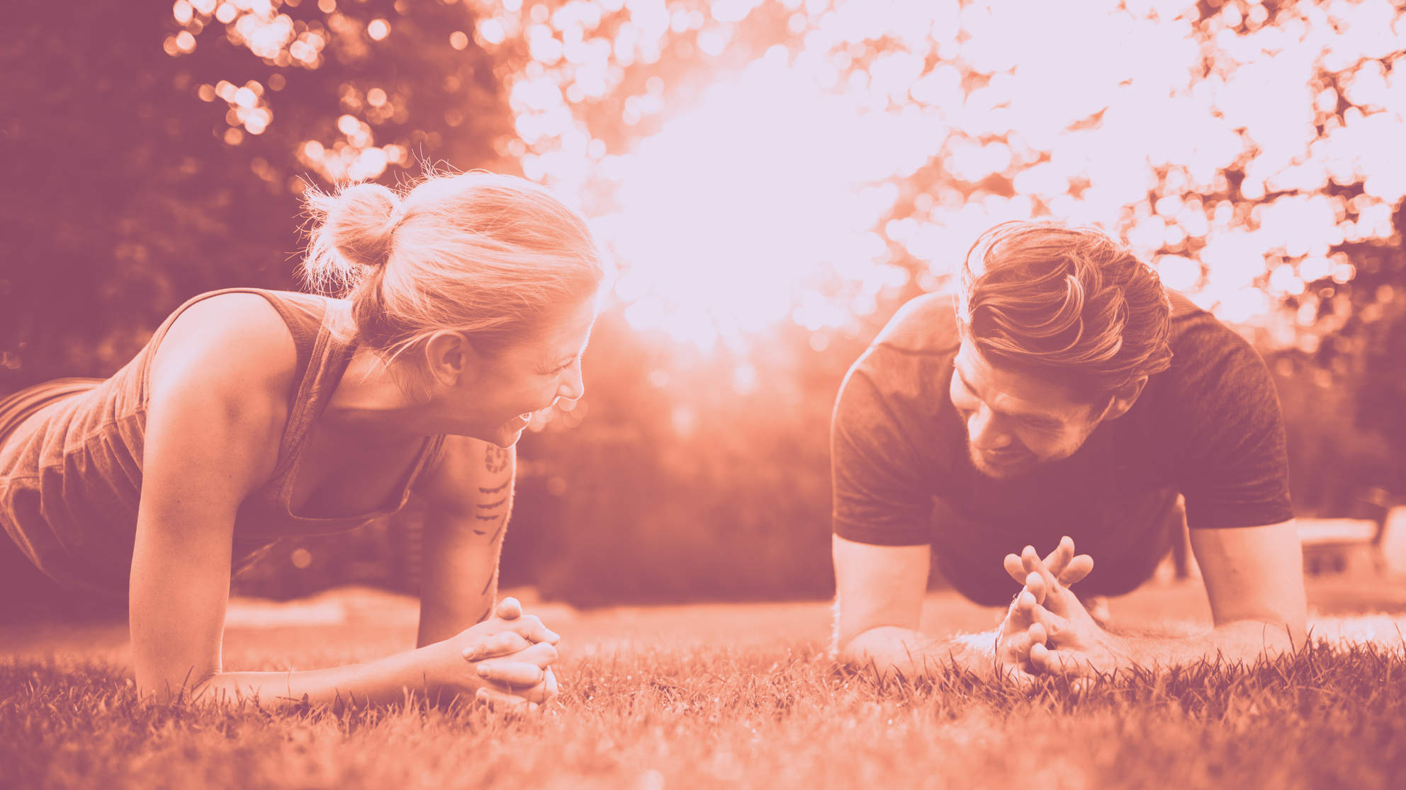 plank exercise couple relationship communication fitness love connection health wellbeing happiness