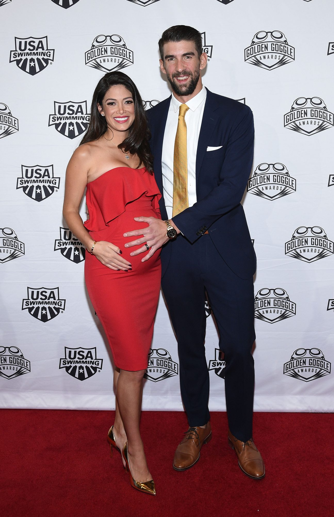michael phelps wife nicole pregnant boomer swimming olympics