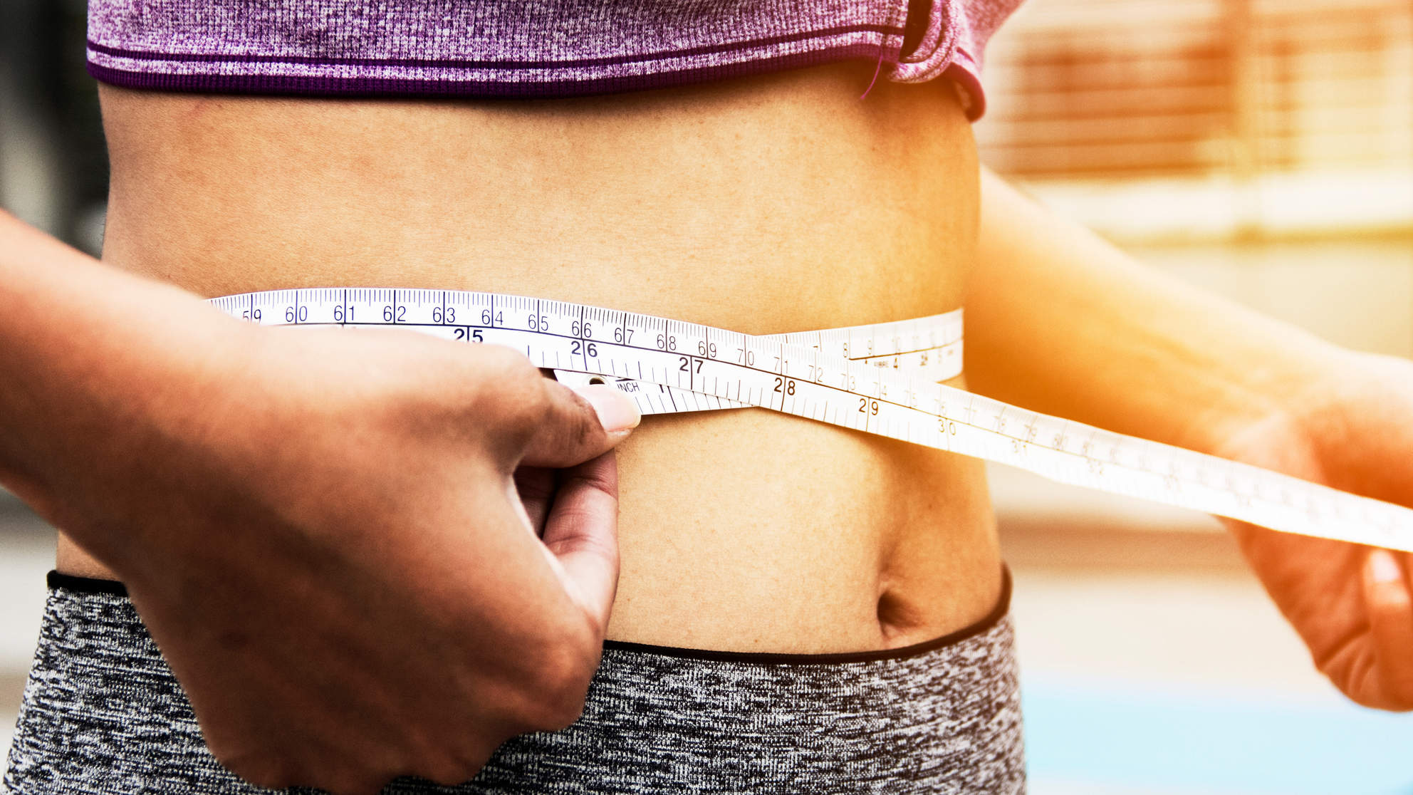 weight-loss-journey tape measure