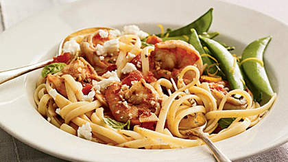 greek-style-shrimp-linguine