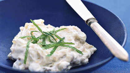 Grilled Eggplant and Yogurt Dip