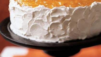 Orange Marmalade Layer Cake
