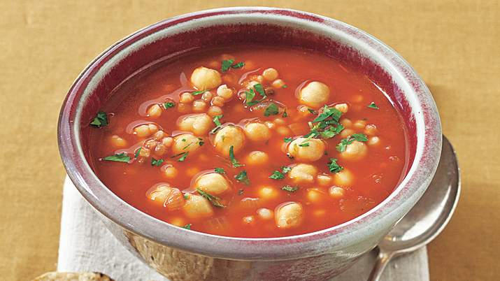 Pancetta and Chickpea Soup